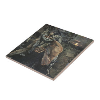 Mikhail Vrubel- Pan Ceramic Tile