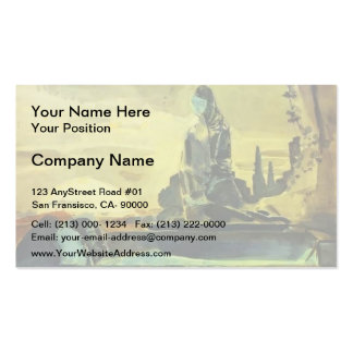 Mikhail Vrubel- Pieta Business Card