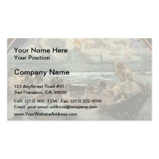 Mikhail Vrubel- Walking on Water Business Card Templates