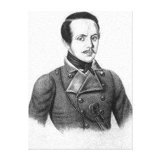 Mikhail Yuryevich Lermontov Canvas Prints