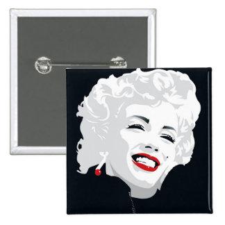 Miki Marilyn 15 Cm Square Badge