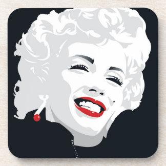 Miki Marilyn Beverage Coasters