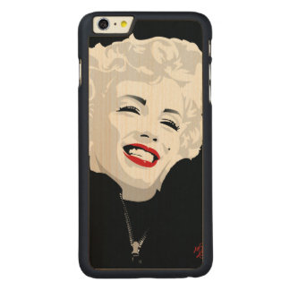 Miki Marilyn Carved Maple iPhone 6 Plus Case