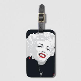 Miki Marilyn Luggage Tag