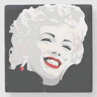 Miki Marilyn Stone Coaster