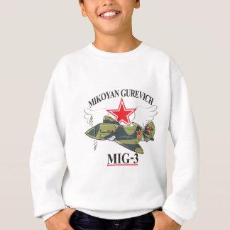 mikoyan mig-3 sweatshirt