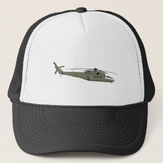 Mil 24A Hind Early Trucker Hat