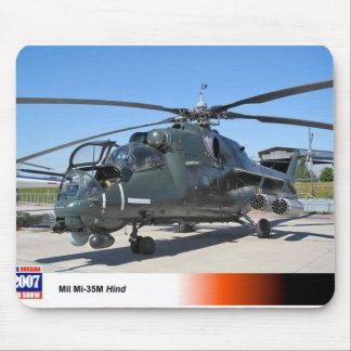 MIL 35 HIND RUSSIAN HELICOPTER MOUSE MAT