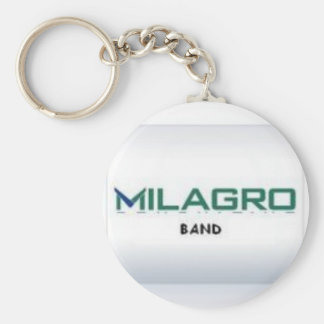 MilagroBand White KeyChain