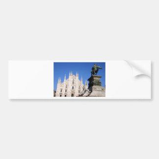 Milan Bumper Sticker