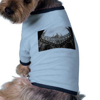 Milan cathedral dome - Italy Ringer Dog Shirt