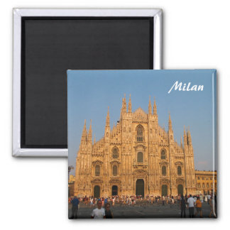 Milan Duomo Fridge Magnet