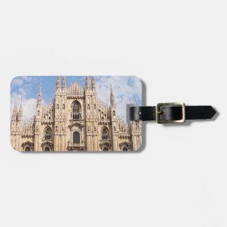 Milan Duomo Luggage Tag