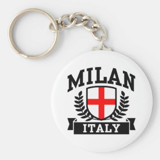 Milan Italy Keychains