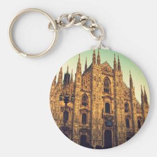 Milan, Italy Key Chain