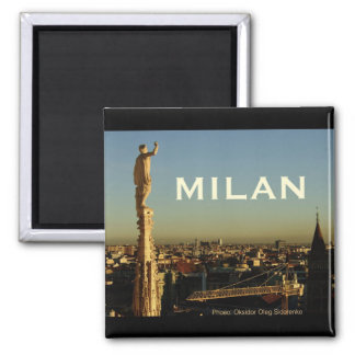 Milan Italy Travel Photo Souvenir Fridge Magnets