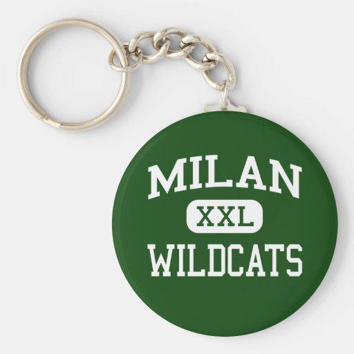 Milan - Wildcats - High School - Milan Missouri Key Chains