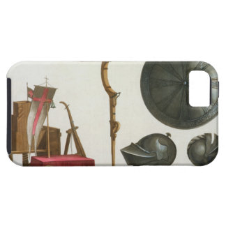 Milanese chariot, crossbow and armour, plate 17 fr iPhone 5 cover