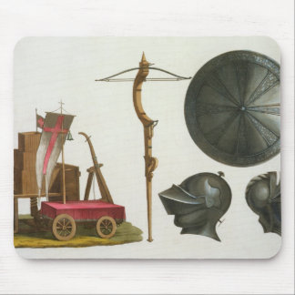 Milanese chariot, crossbow and armour, plate 17 fr mouse mat