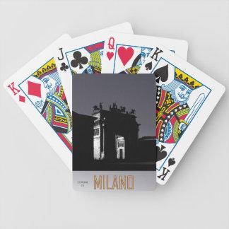 Milano Bicycle Playing Cards