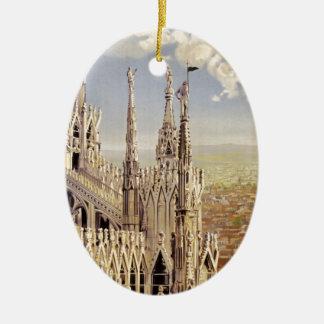 Milano Ceramic Oval Decoration