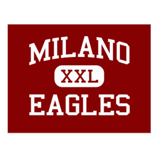 Milano - Eagles - Senior - Milano Texas Postcard