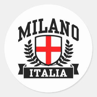Milano Italia Round Sticker