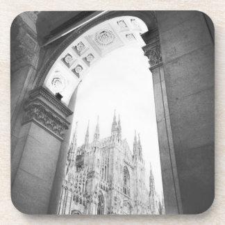 Milano Italy, Galleria View of the Duomo Coaster