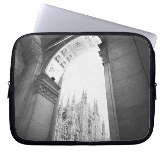 Milano Italy, Galleria View of the Duomo Laptop Sleeve