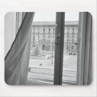 Milano Italy, View from La Scala Opera Window Mouse Pad