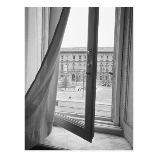 Milano Italy, View from La Scala Opera Window