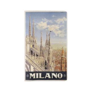 Milano Milan Italy custom notebook