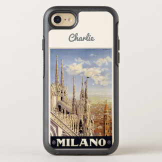 Milano Milan Italy name phone OtterBox Symmetry iPhone 8/7 Case