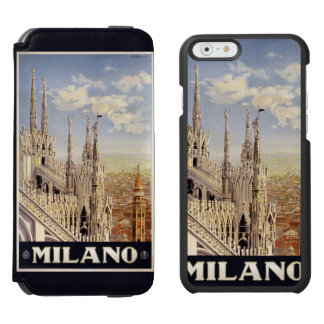 Milano (Milan) Italy vintage travel cases Incipio Watson™ iPhone 6 Wallet Case