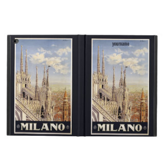 Milano (Milan) Italy vintage travel device cases