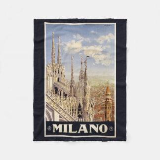 Milano (Milan) Italy vintage travel fleece