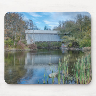 Milby Covered Bridge 2 Mouse Pad