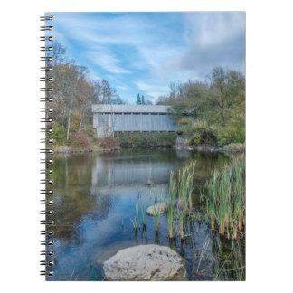 Milby Covered Bridge 2 Note Books