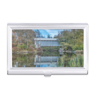 Milby Covered Bridge Business Card Holder