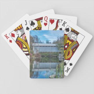 Milby Covered Bridge Poker Deck