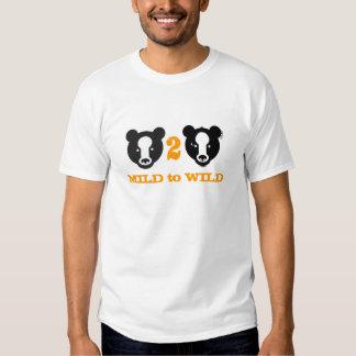 MILD 2 WILD TEE SHIRTS