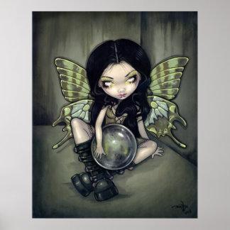 Mildew gothic fairy Art Print