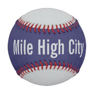 Mile High City Baseball Baseballs