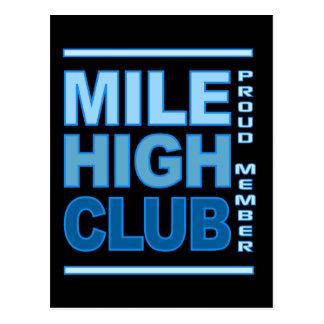 Mile High Club postcard