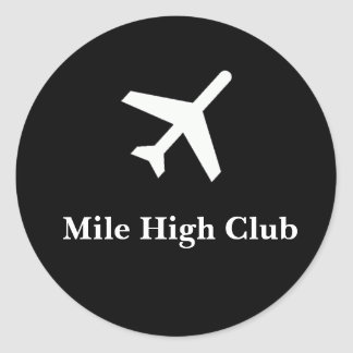 Mile High Club Sticker