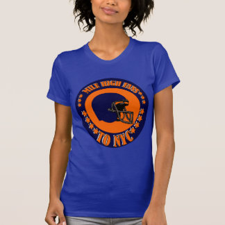 MILE HIGH FANS TO NYC T SHIRT