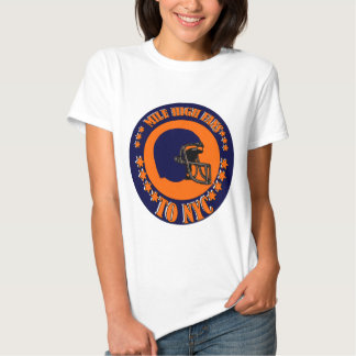 MILE HIGH FANS TO NYC T-SHIRTS