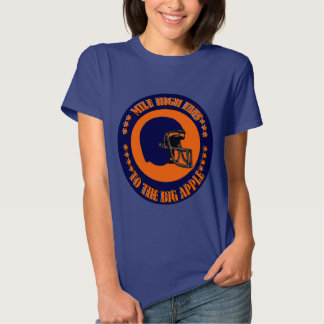 MILE HIGH FANS TO THE BIG APPLE T SHIRT