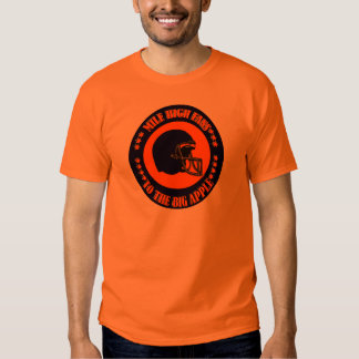 MILE HIGH FANS TO THE BIG APPLE TEE SHIRT