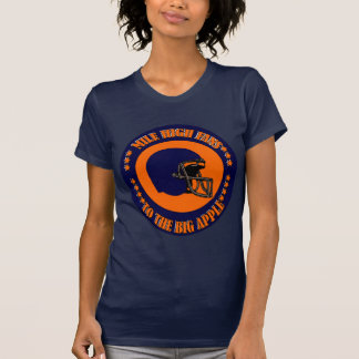 MILE HIGH FANS TO THE BIG APPLE TEE SHIRTS